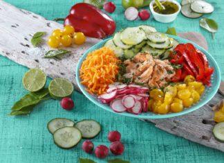 Salada de salmao