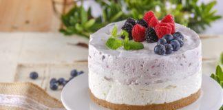 Tarte de mousse de iogurte CHML