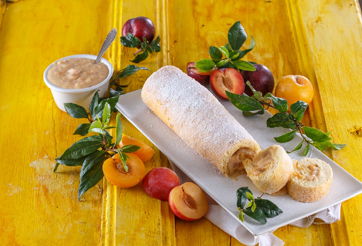 Torta de ameixa fresca PP CHML 34