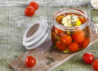 Conserva de tomate confitado