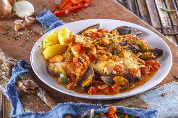 Garoupa estufada com marisco CHLM 12