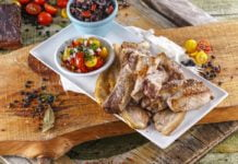 Mista de carnes no forno