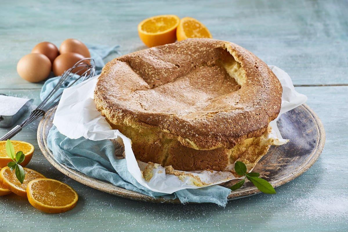 Pão de ló de laranja CHPS 1