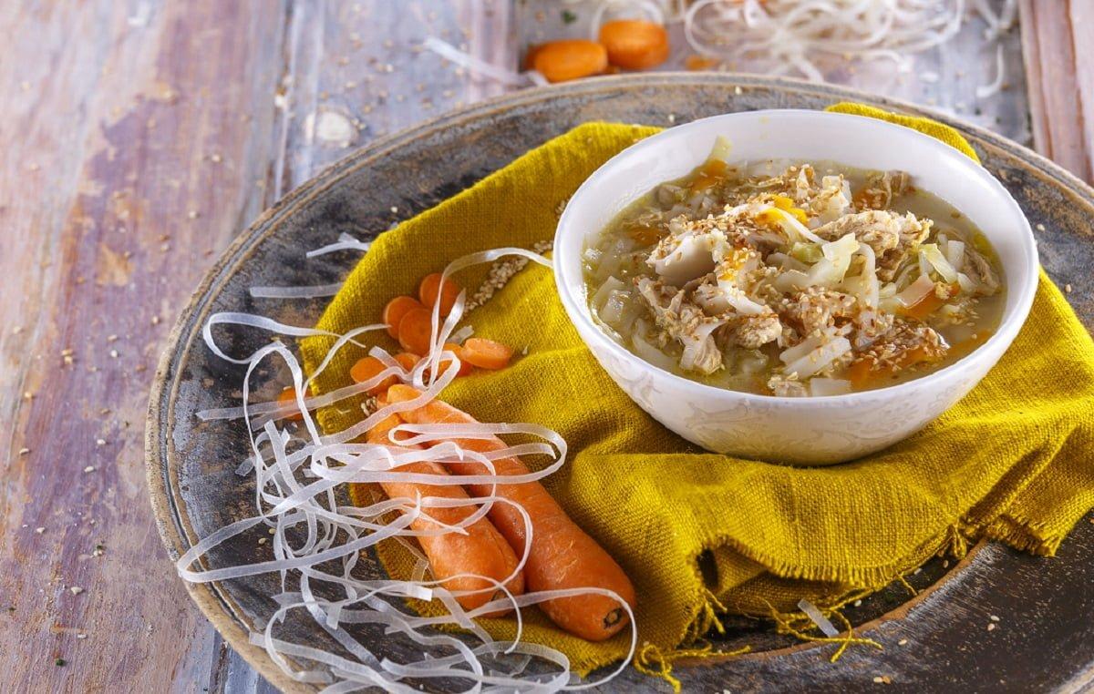 Sopa oriental de frango e legumes PP CHSB 23
