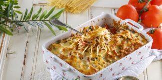 Tabuleiro de esparguete com atum gratinado CHFB 15