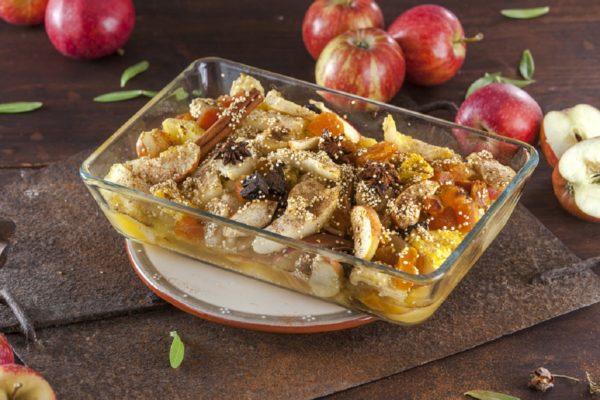 Salada de frutas de inverno
