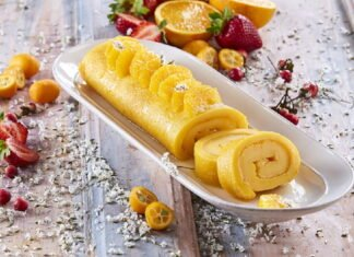 Torta de laranja - @TeleCulinária