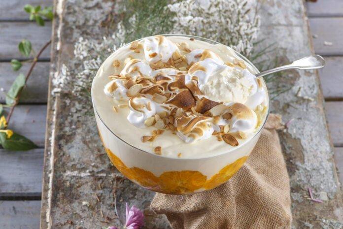 Trifle de inverno com laranja - TeleCulinária