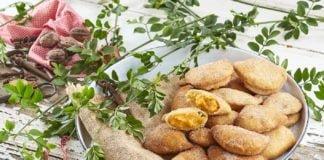 Azevias de batata doce
