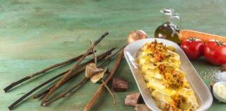 Canelones de vegetais com molho de 4 queijos CHFB 9