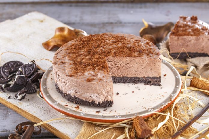 Cheesecake-cremoso-de-chocolate