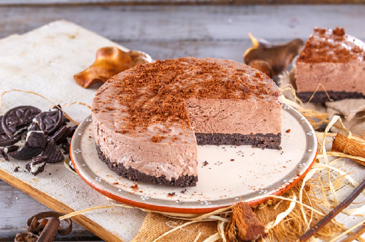 Cheesecake cremoso de chocolate CHPS 15
