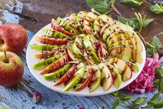 Nachos de maçã -@Teleculinaria