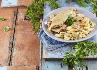 Bifes-de-peru-com-molho-de-mostarda