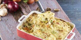 Fusili com atum e legumes gratinado no forno -@Teleculinaria