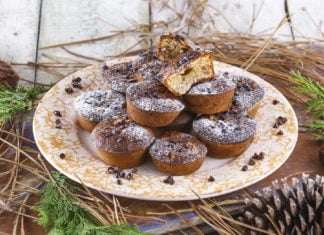 Muffins-de-banana-e-chocolate