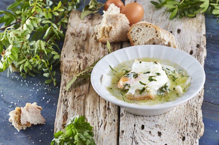 Sopa à Alentejana de bacalhau CHPS 00014