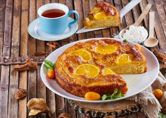 Tarte grega de laranja