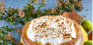 tarte de coco e lima