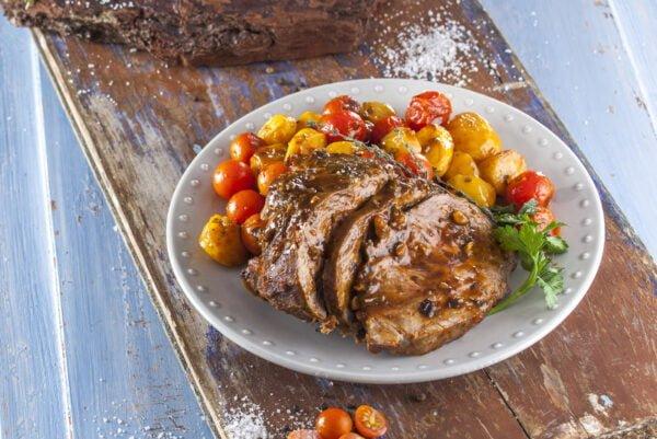 Carne de vaca assada no forno -@Teleculinária
