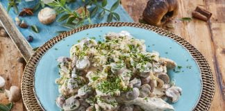 Bifes de peru com naas e cogumelos CHMM 00006