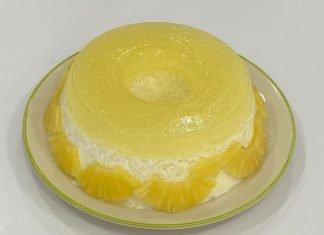 Doce de ananás Live Chef Luis Machado