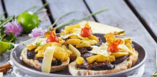 Morcela com ananás à moda dos Açores