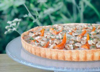 tarte de cenouras com nozes 1