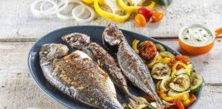Barbecue de peixes com legumes CHPF 7 Large Large