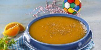 Creme de cenoura com laranja - @TeleCulinária