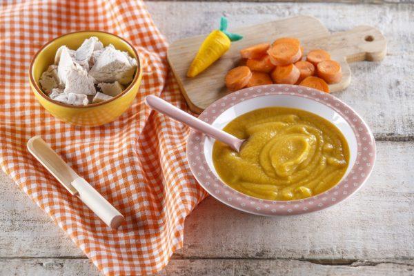 Creme de cenoura com peru CHPF 13 Medium