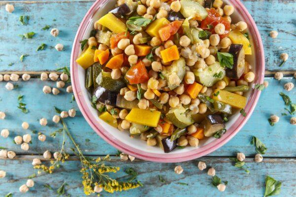 Grao com vegetais CHPF 8 Large