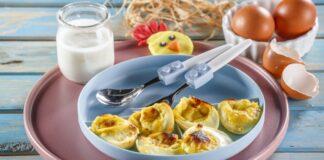 Ovos gratinados com iogurte CHPF 12 Medium