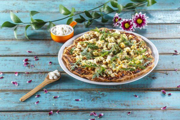 Piza com queijo e rucula CHPF 3 Large