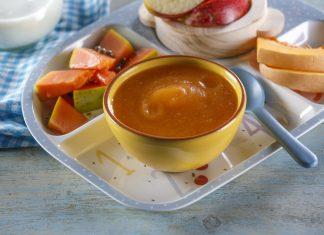 Pure de abobora com fruta e cereais CHPF 14 Medium