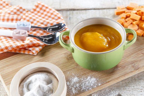 Pure de legumes com farinha de arroz CHPF 10 Medium