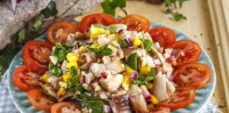 Salada de orelha de vinagrete @TeleCulinária