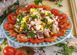 Salada de orelha de vinagrete CHFB 17