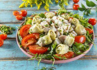 Salada de peixe com alcachofra CHPF Large