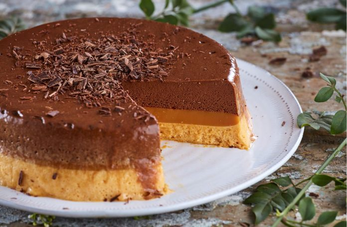 Semifrio de chocolate e caramelo I TeleCulinária