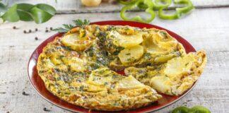 Tortilha de pimentos verdes -@TeleCulinária