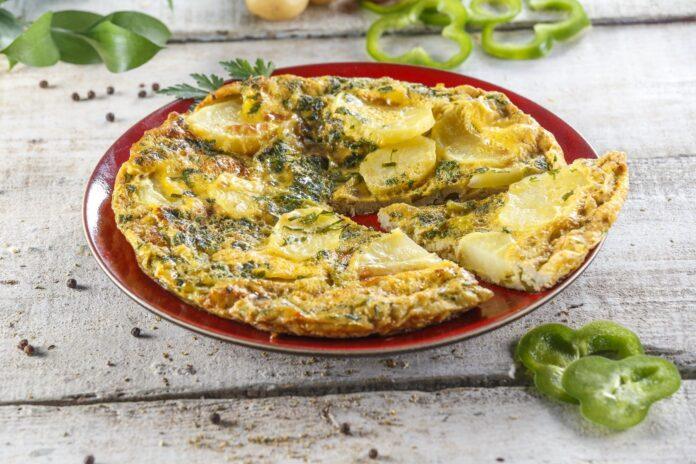 Tortilha de pimentos verdes CHPF 18 Large