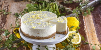 Cheesecake de limao light CHLM 8