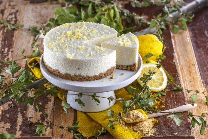 Cheesecake de limao light CHLM 8