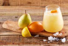 Cocktail pera e laranja -@TeleCulinária