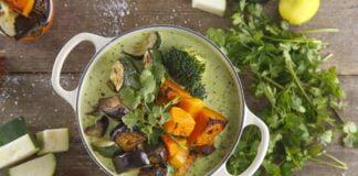 Caril verde de legumes assados~-@TeleCulinária