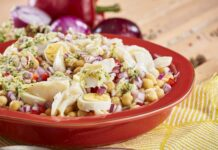 Salada de bacalhau com grão - @TeleCulinária