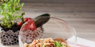 Salada de quinoa e legumes de verão - @TeleCulinária