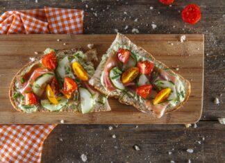 Tosta de presunto com abacate CHPF 4 Large