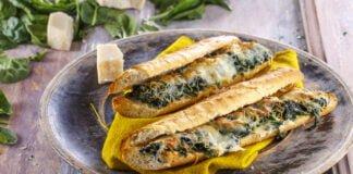 Baguete de limão e espinafres - @TeleCulinária